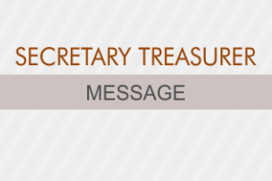 SECRETARY MESSAGE